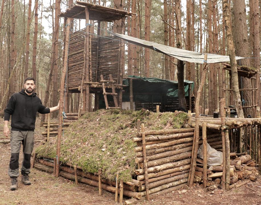 Bushcraft Camp Pic