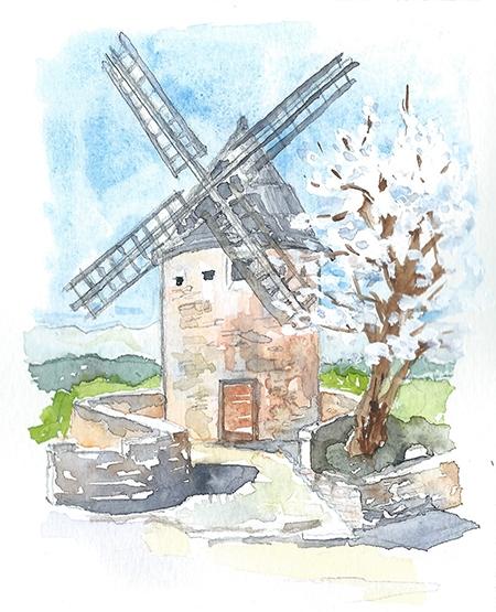 GOULT - est un pittoresque village perché au coeur de la Provence avec une vue superbe sur le massif du Luberon. Village caché, il deviendra votre destination favorite pour profiter de la vie provençale au calme, loin des foules de touristes. Goult a un café, une épicerie, une boulangerie, une boucherie et plusieurs restaurants, dont La Bartavelle, située au coeur du village. Le parking y est facile. Prenez le temps de monter jusqu'au Moulin de Jerusalem: vous y découvrirez une vue superbe sur les Petit et Grand Luberons et les villages de Bonnieux, Lacoste, Ménerbes et Saignon.GOULT is a charming hill town in the heart of Provence with stunning views of the Petit Luberon mountains. The village is the place to go if you want an authentic provençal experience without throngs of tour buses and crowds. This tiny village includes a boulangerie, an epicerie, a butcher, a café and several restaurants including La Bartavelle which is located in the heart of the village. Take a moment to walk up to the windmill, for sweeping views of the majestic Petit and Grand Luberon as well as views of neighboring villages: Bonnieux, Lacoste, Menerbes and Saignon.