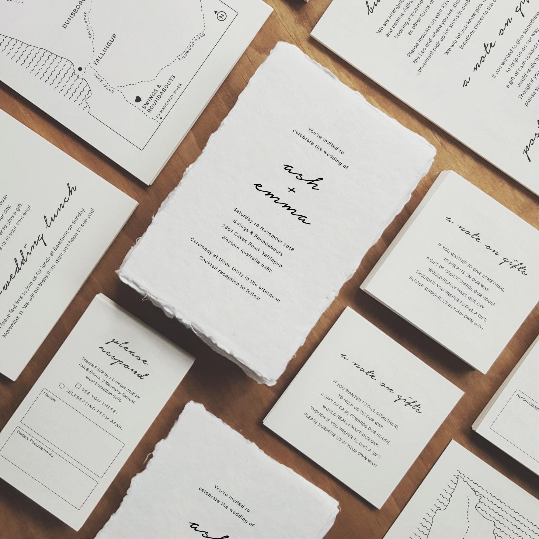 'Love Story' - Handmade Paper