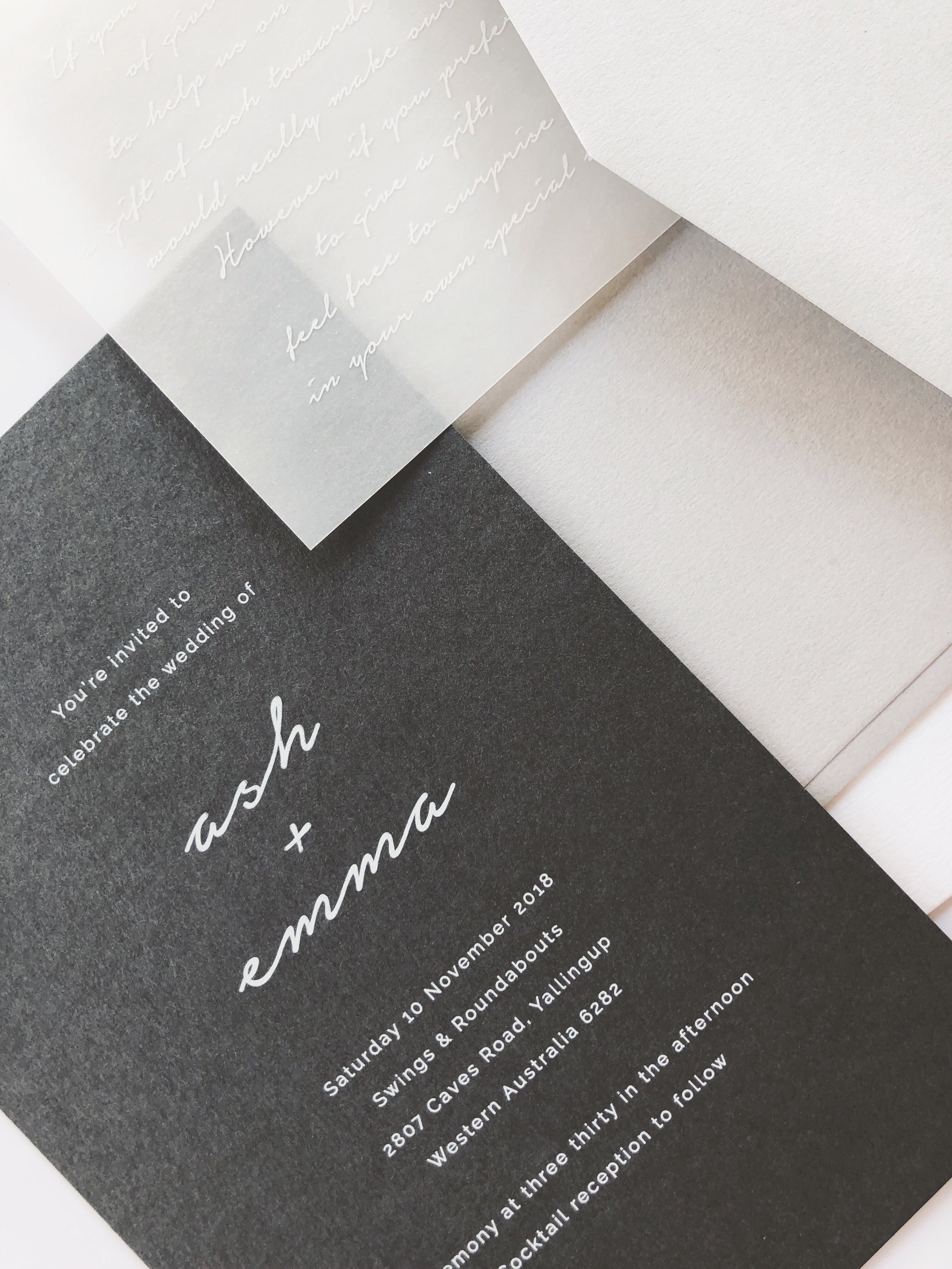 Invitations - Wedding // Engagement // Save the Date