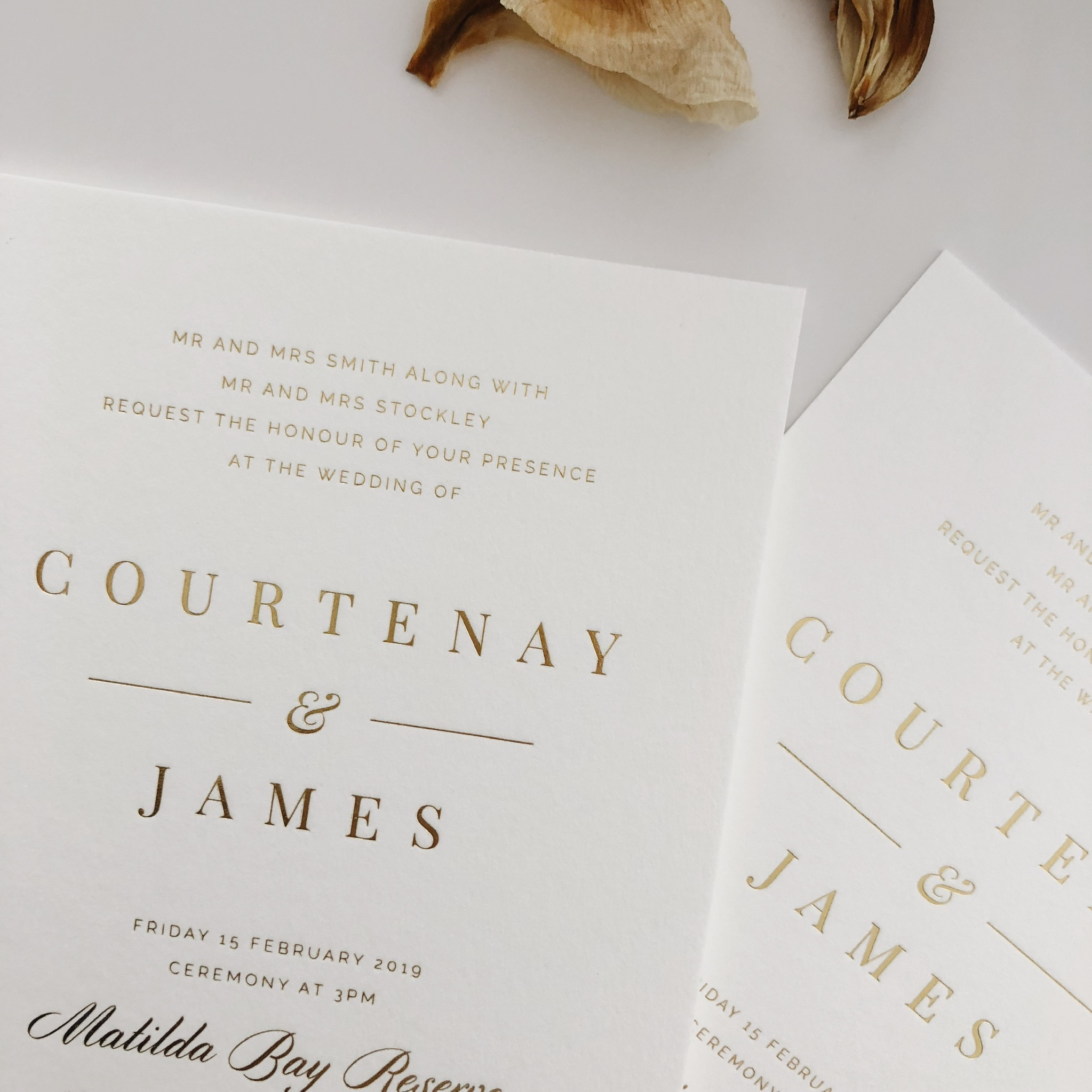 Wedding Invitations -