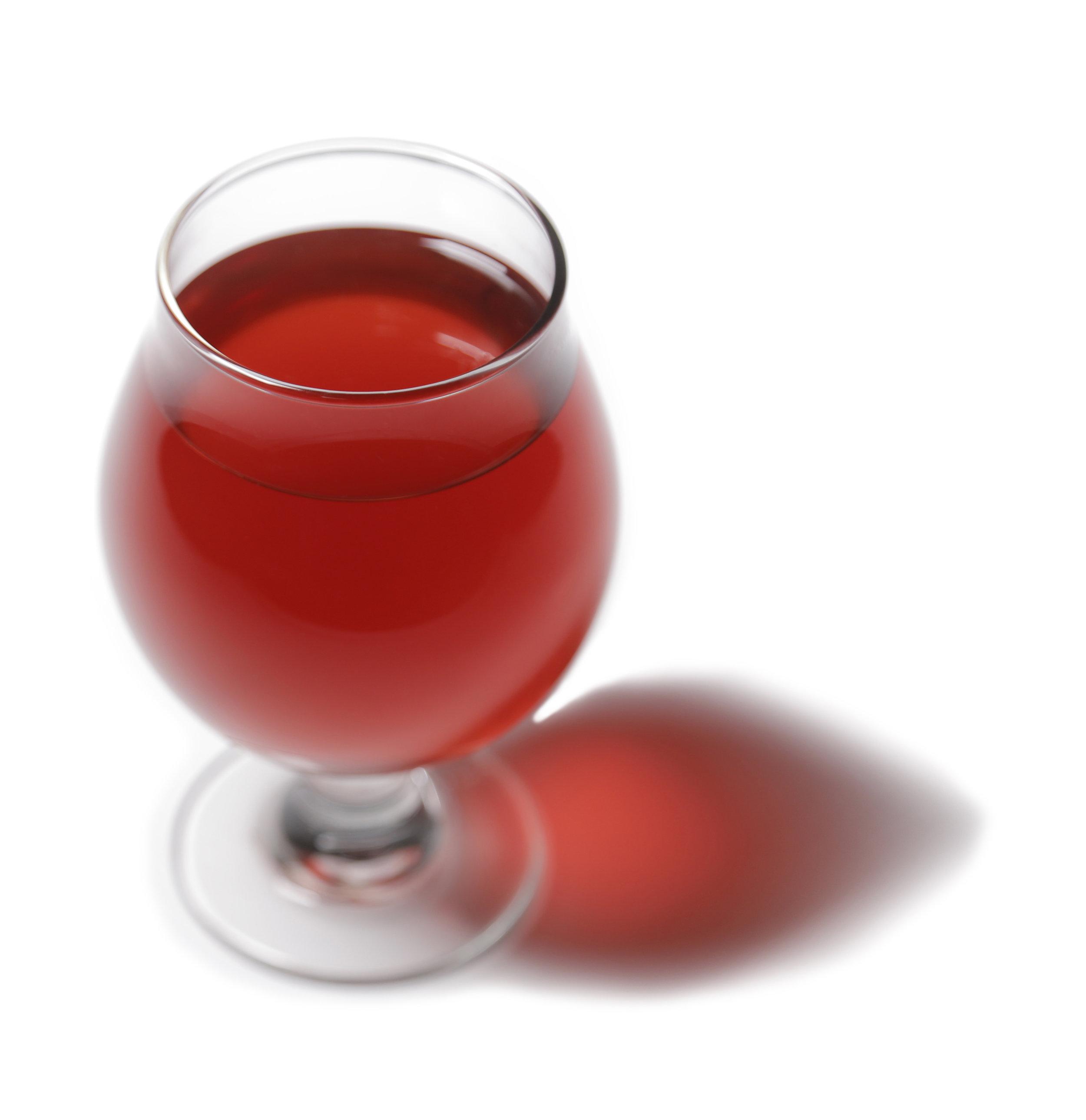Strawberry Spruce Tip - PINE + FRUITY + BERRYFiltered Water, Organic Culture, Organic Cane Sugar, Organic White Peony Tea, Organic Dehydrated Strawberries, Wild Gustavus Spruce Tips