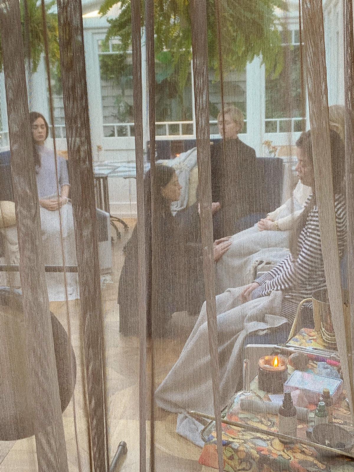 Gazelli Reiki master Jasmin Harsono at a group Reiki meditation at Gazelli House South Kensington