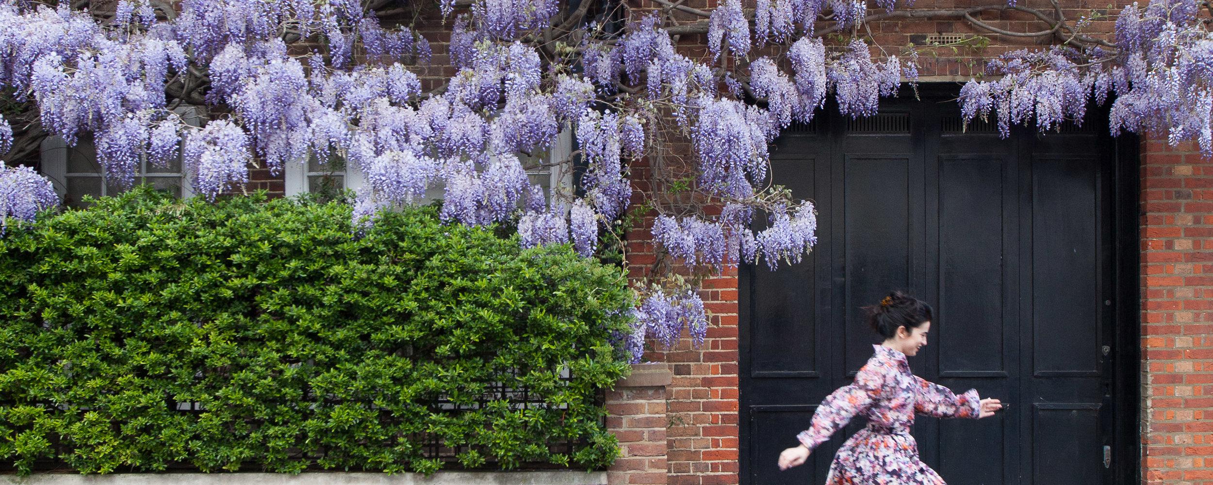 It's hay fever season in London