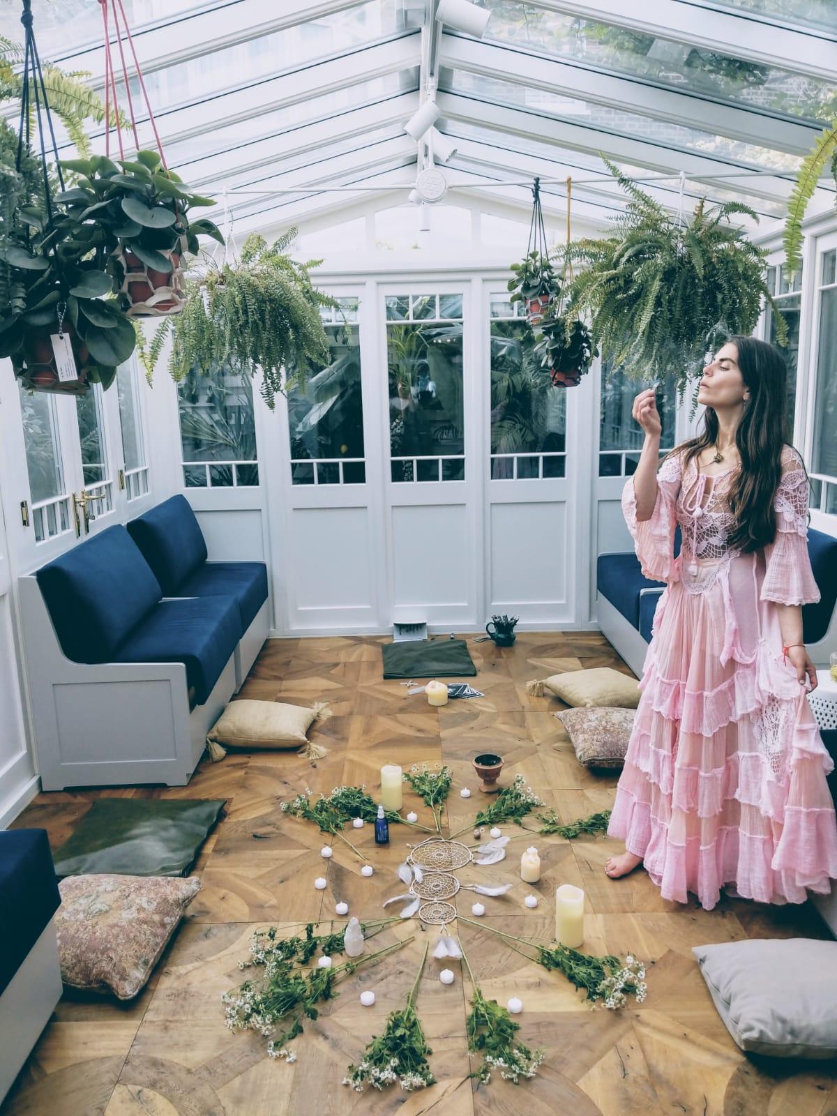 Anoushka Florence, founder of The Goddess Space at Gazelli House South Kensington