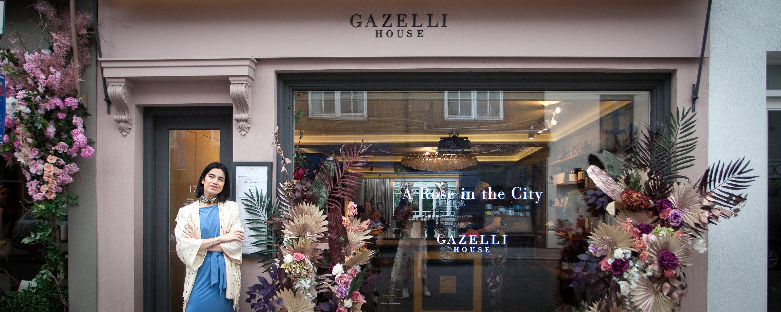 Jamila Askarova, Gazelli founder at Gazelli House in South Kensington