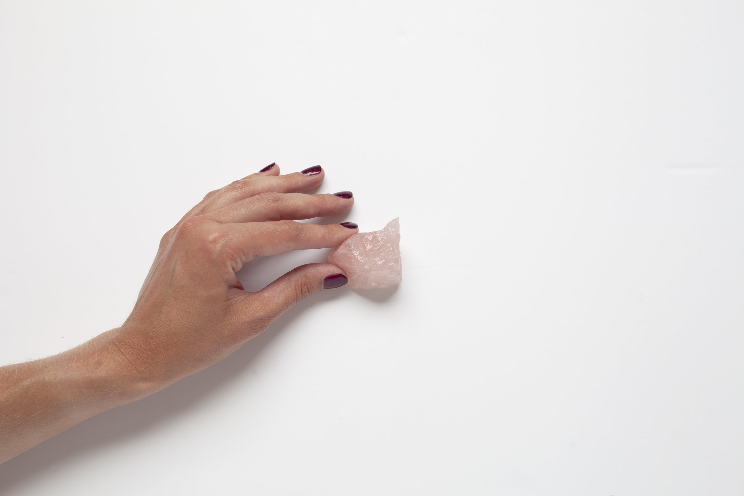 Raw Rose Quartz Available from our Wellbeing Shop