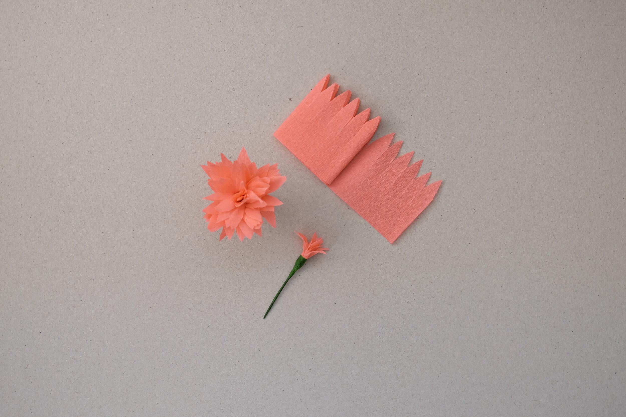 Make a Paper Dahlia Flower - The Design Files | Australia's most ... | 667x1000