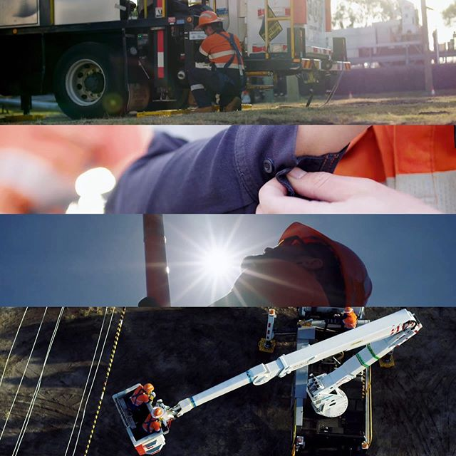 Interesting shoot for Balmoral Engineering designing products to keep the power on #powerline #power #cinematography #drone #stillframes #film