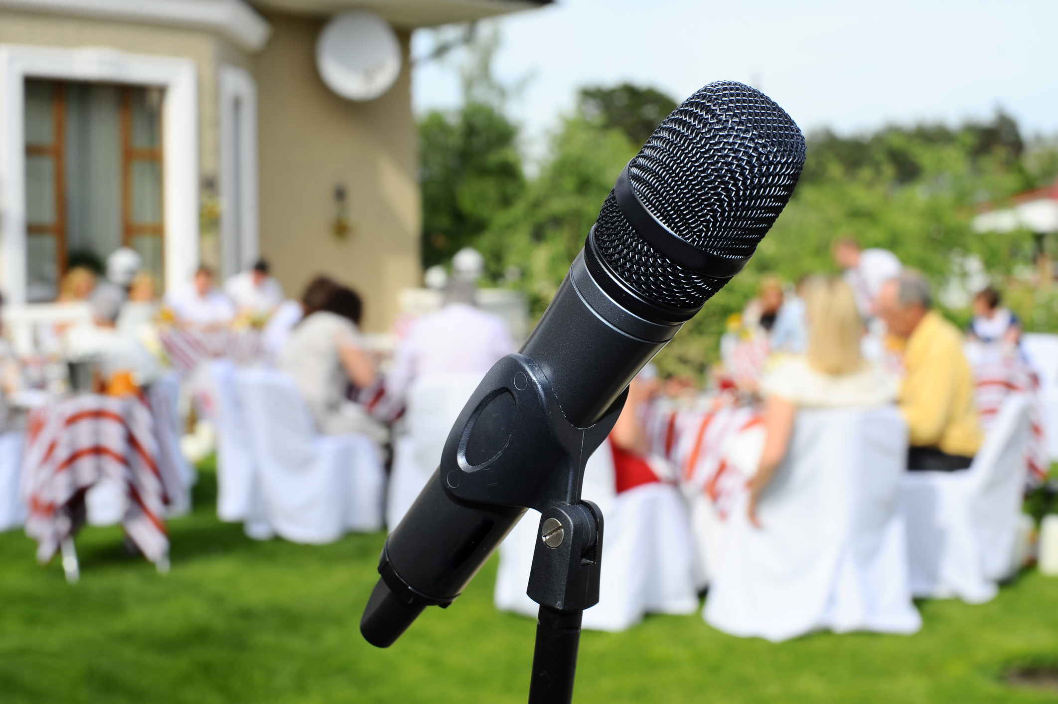 Reception Microphones