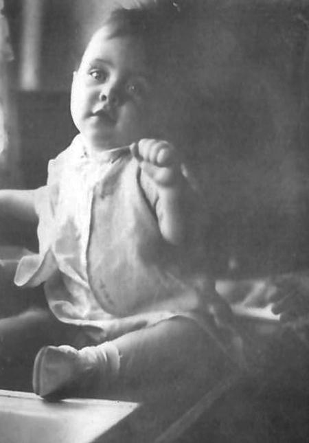 L.A. Dierker at 9 month old