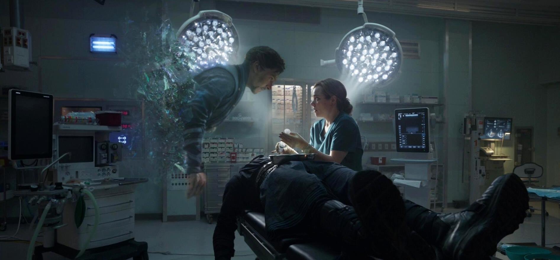 Dr. Strange   (2016) avec Benedict Comberbahcoijzejnrgfrkjn, Rachel McAdams, Tilda Swinton…