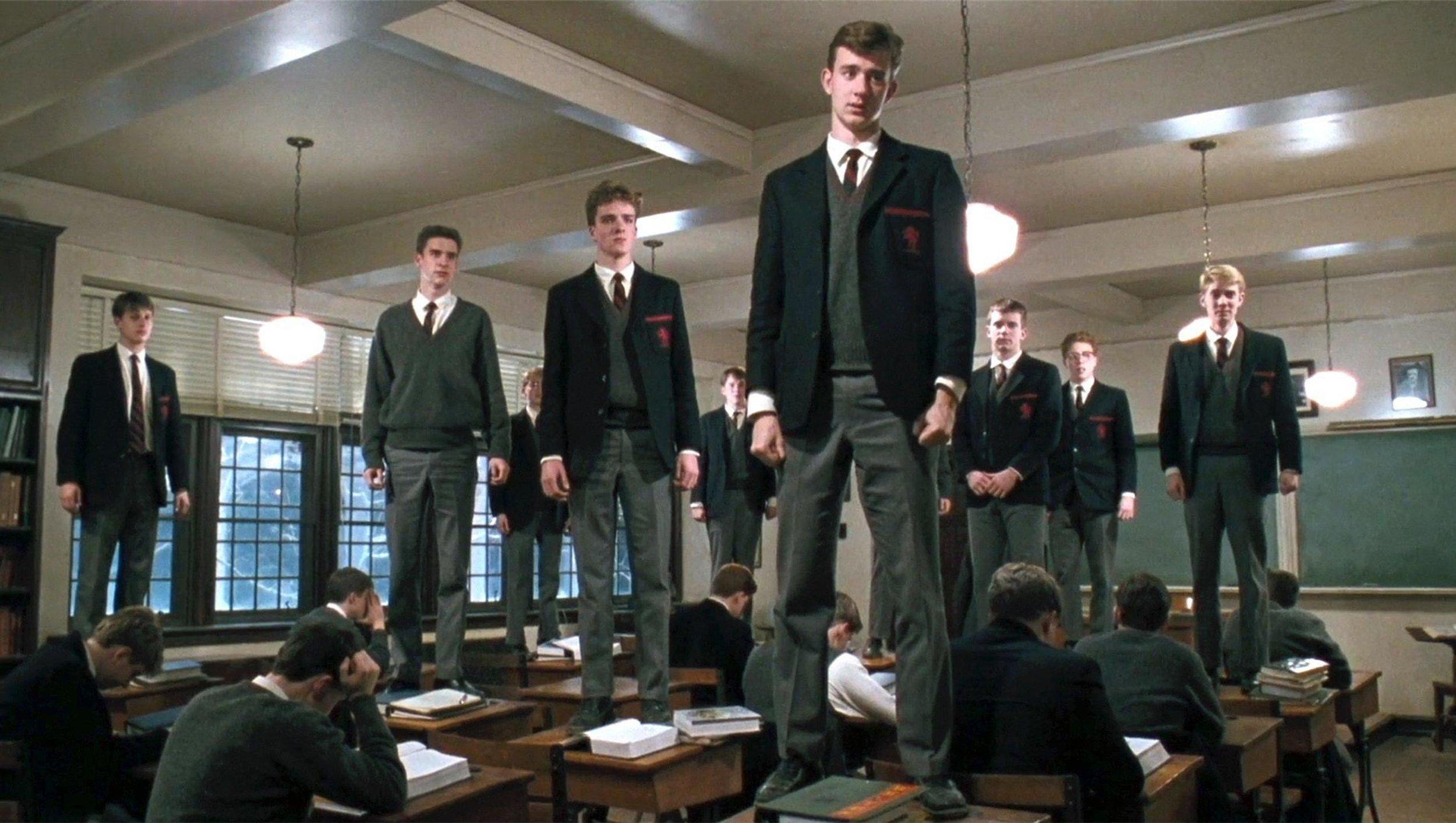 Le Cercle des Poètes Disparus   (1989) avec Robin Williams, Ethan Hawke, Robert Sean Leonard …