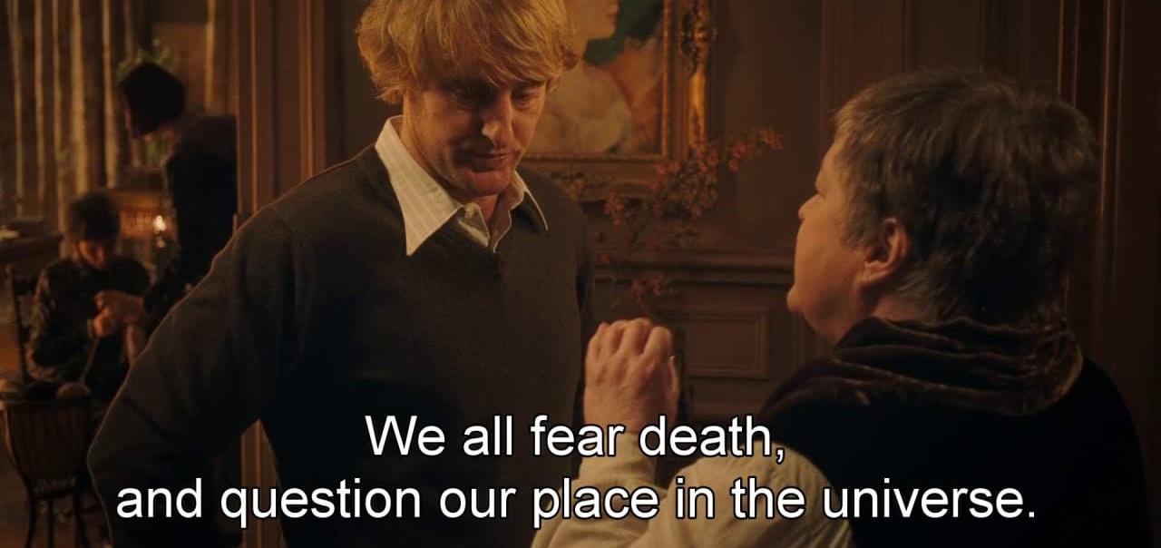 Minuit à Paris   (2011) de Woody Allen, avec Owen Wilson, Rachel McAdams, Marion Cotillard…