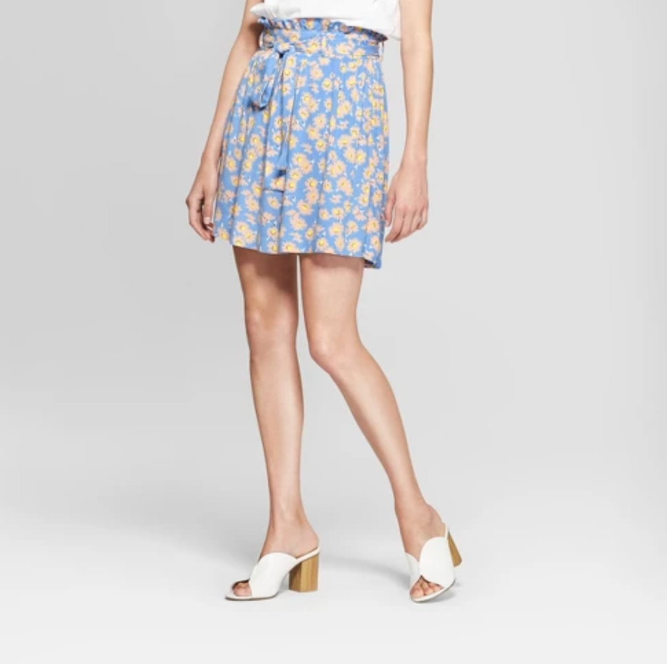 Paperbag Mini Skirt - $24.99Paperbag skirts are great basics to have one or two prints on hand.