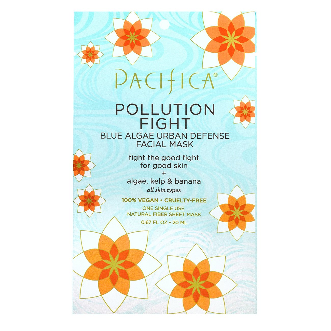 Pollution Fight Facial Mask - $4I have never been a big mask person, until I discovered these amazing masks from Pacifica at Target. Pop one on, depending on what sort of treatment I need, wait twenty minutes and gently massage the remaining product into your skin. No need to rinse.