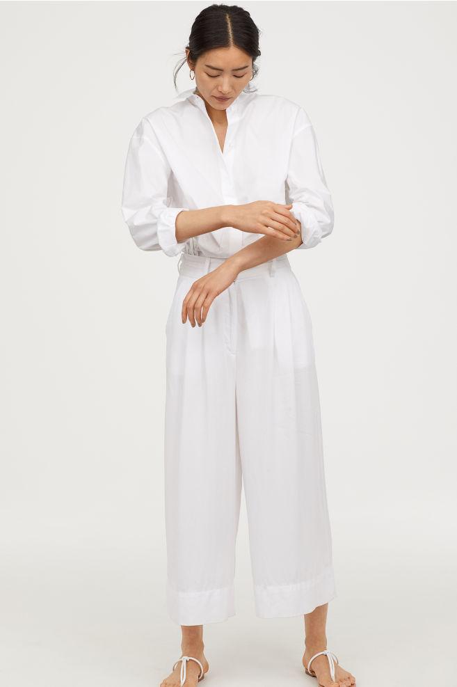 the pants - Wide-leg Pants | H&M