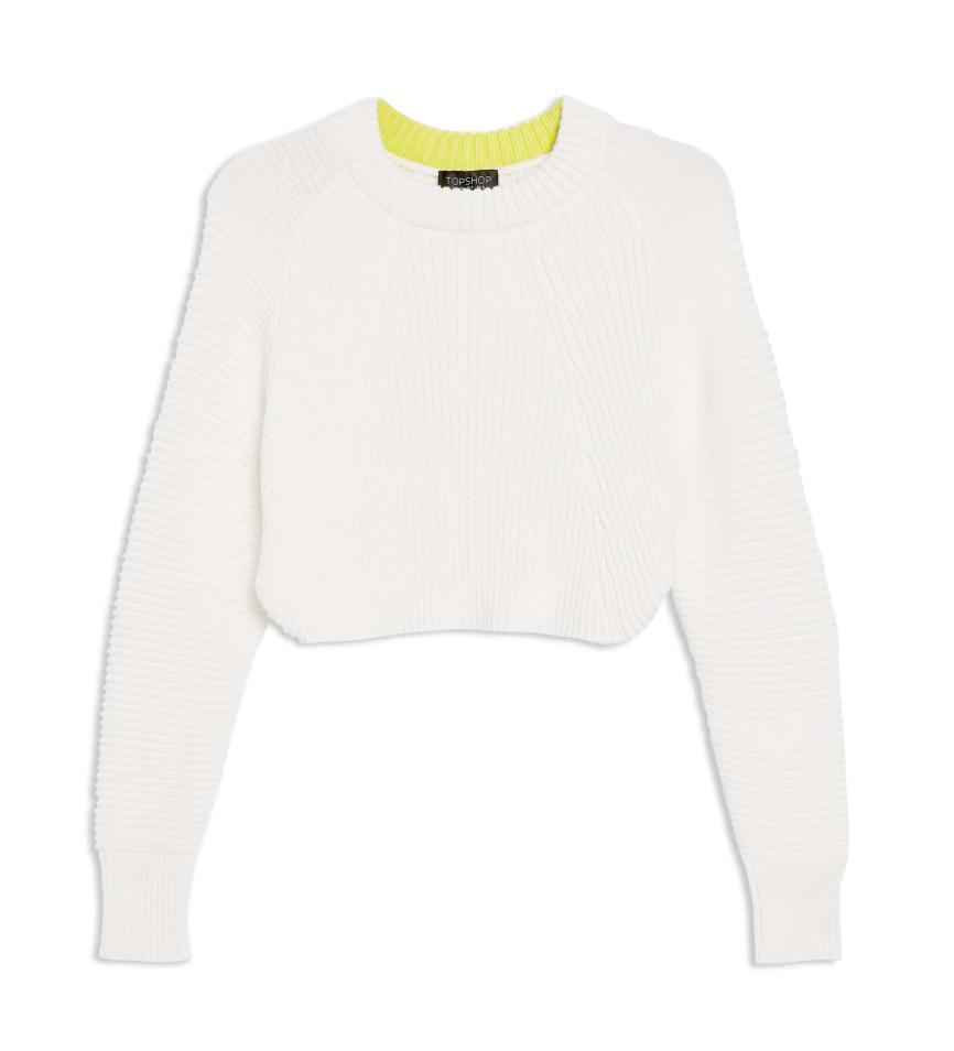 the sweater - Super Crop Sweater | TopShop