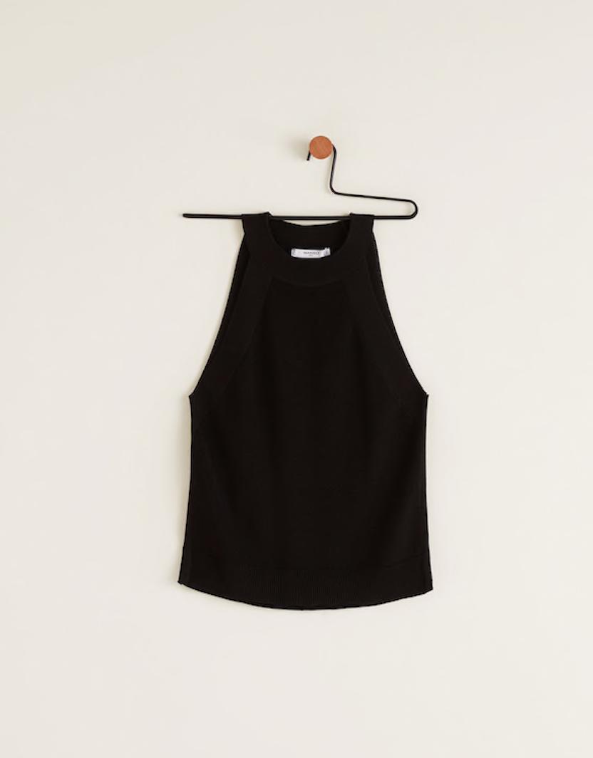 the top - Halter Neck Top | Mango