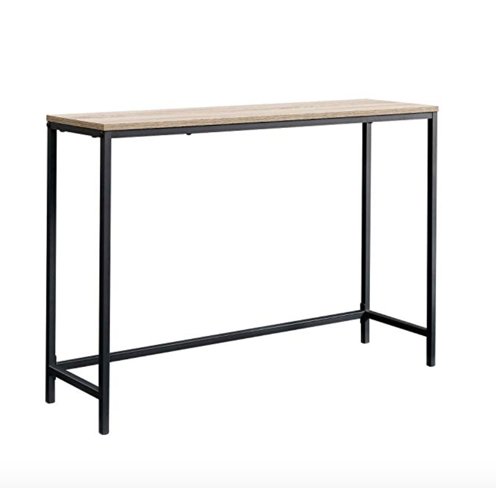 North Avenue Sofa Table - Amazon $52.92This was a fundamental key piece that I purchased new for this little makeover. It is a beautiful table at a great price. It is easy to put together and extremely solid, yet lightweight.
