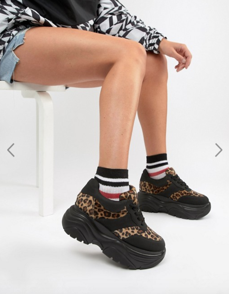 Chunky Leopard Sneakers - $72 | $50 On Sale