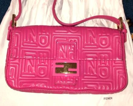 Vintage Pink Fendi Baguette - Pre-Owned on Poshmark | $699