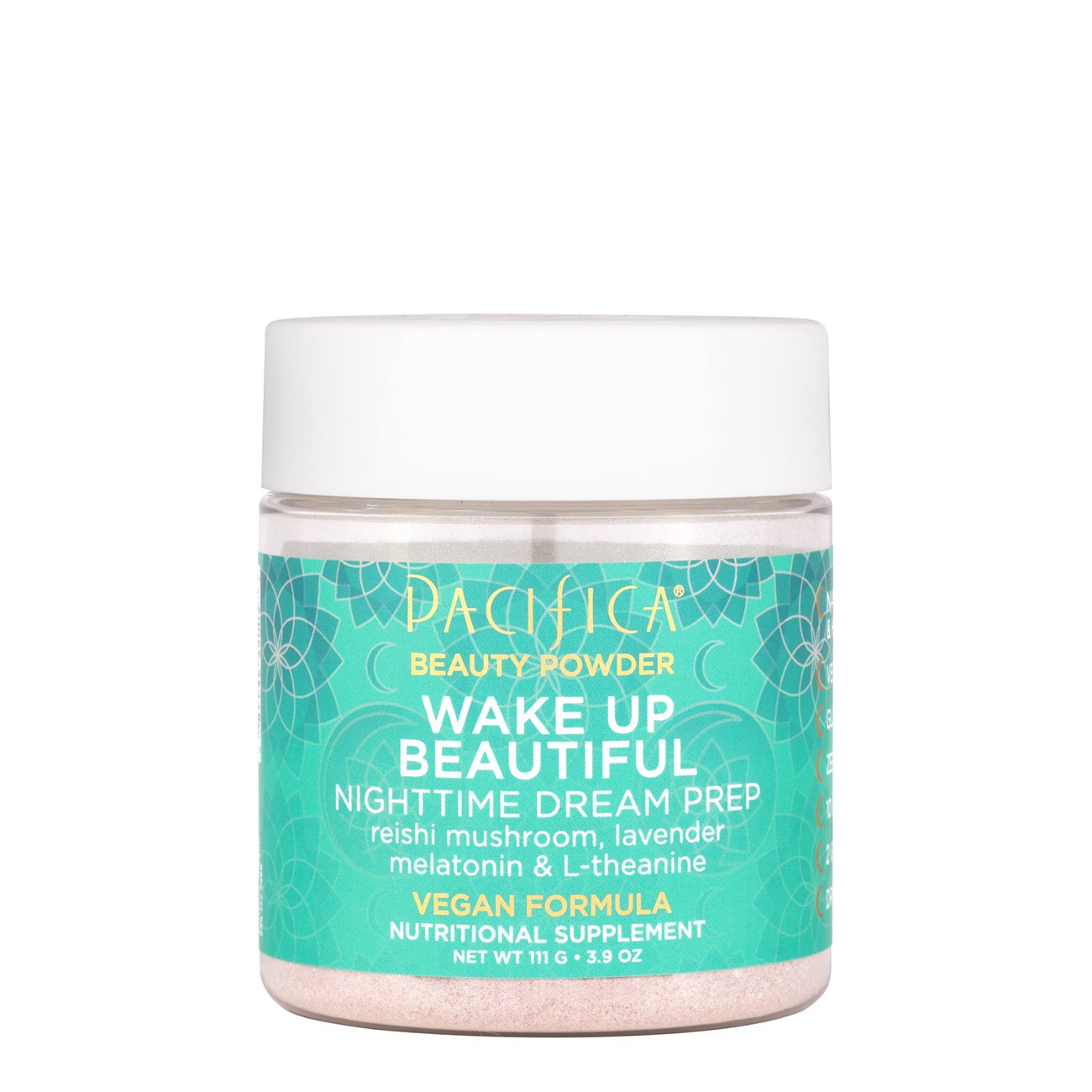 Wake Up Beautiful Nighttime Dream Prep - $19.99 | Pacifica BeautyIf you have trouble sleeping, this will put you out. I do not have trouble sleeping but bought it for the muscle relaxing benefits and noticed a huge difference with in the first 30 minutes. My husband has trouble falling asleep at night, and he was able to get to sleep right away after one scoop before bed. Side benefit: It makes your skin feel amazing!! So soft and supple.*Make sure to read all instructions/information and only ingest right before you go to bed, about 30 minutes before, as you will become very sleepy.