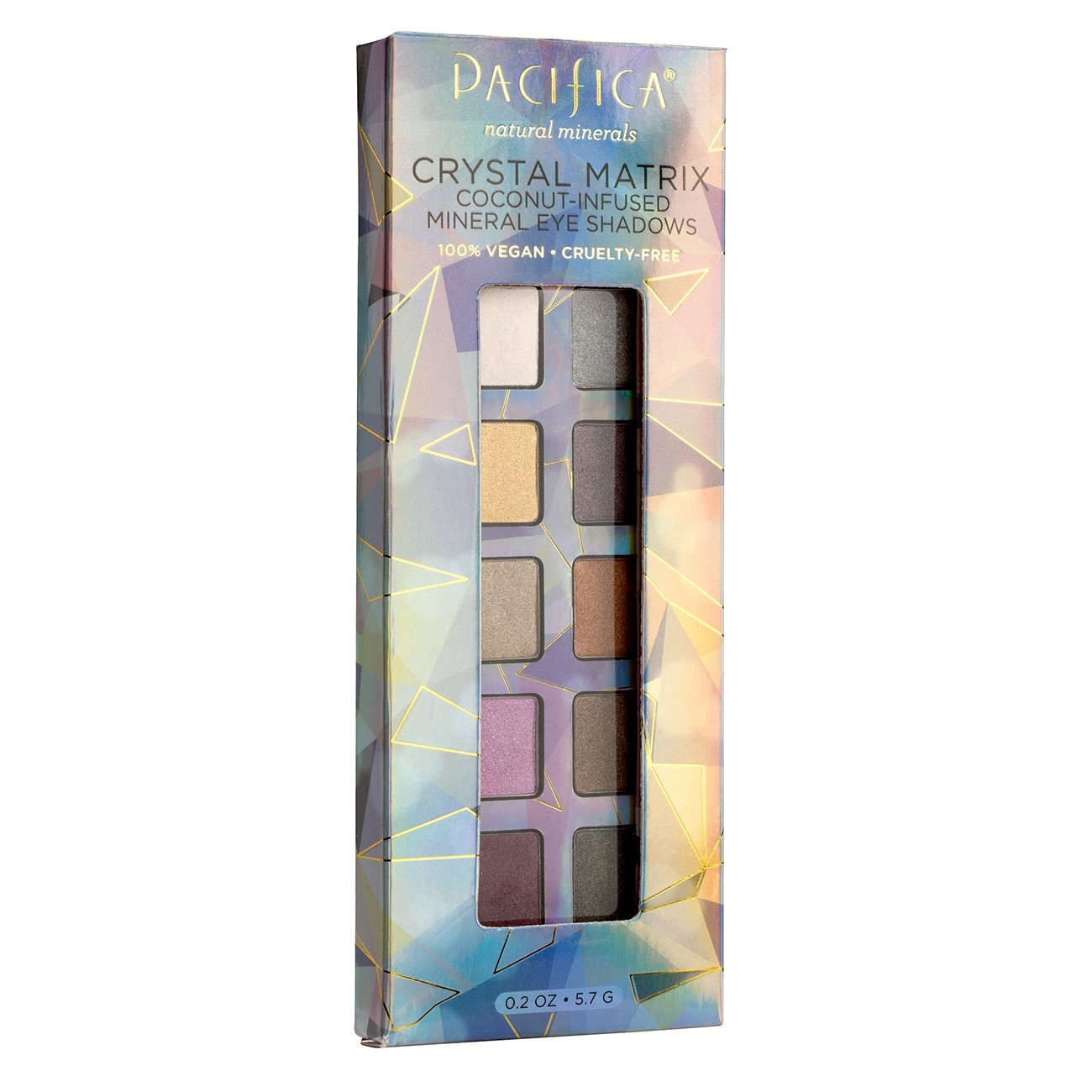 Crystal Matrix Mineral Infused Eyeshadow - $18 | Pacifica BeautyI love a minimal glittery eye. The best part about this shadow is how lightweight it is and that it is vegan and cruelty-free.