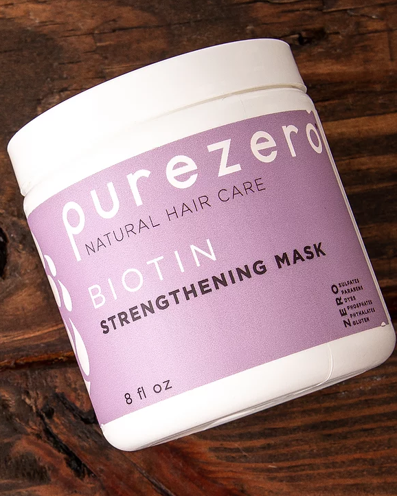 Biotin Strengthening Mask - PurezeroShop in store at CVS, Target, and Whole Foods.