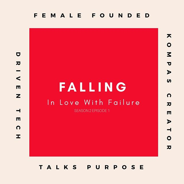 It's here! Our very first episode of our new podcast series 'Falling In Love With Failure' is live. Kristina Plummer, founder of @yourkompas, an app created to change the way we connect to plant-based dining options across the globe, sits down and shares her story of trial an error. As she chased her passion she found her purpose and is on a mission to make the world a better place one plant-based meal option at a time. #fallinginlovewithfailure #yourkompas #plantbased #vegandining #womenintech #womenfounded #womanfounder #creativeconversations #selfhelp #podcast #newpodcast #onthisepisode #femaleleaders #missiondriven #peoplepoweredtech