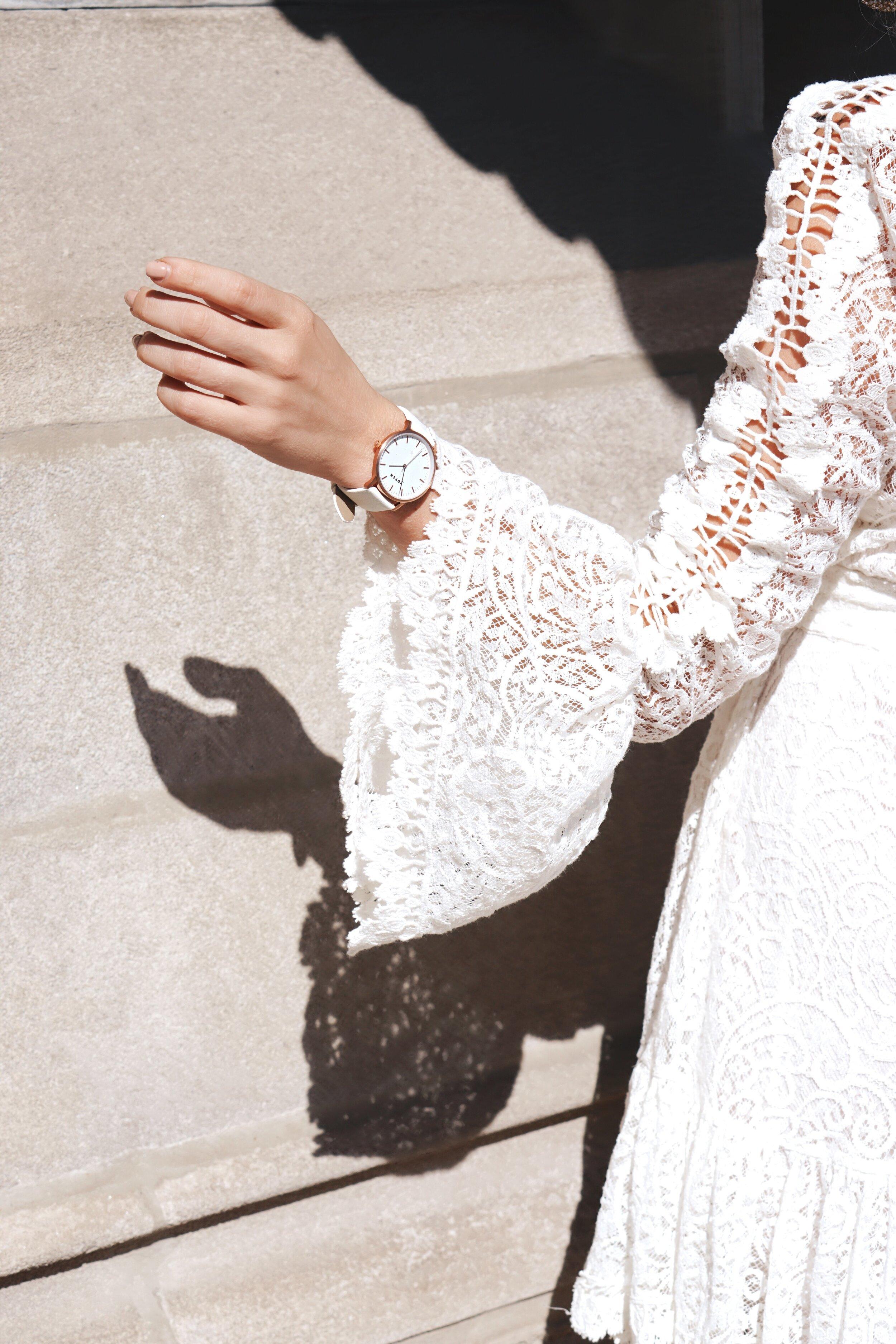 Vegan Watch, Vegan Fashion, Rose Gold Watch, Cruelty-Free Fashion, Sararose Krenger, Chicagos Best Blogger, Fashion Stylist, Chicago Style