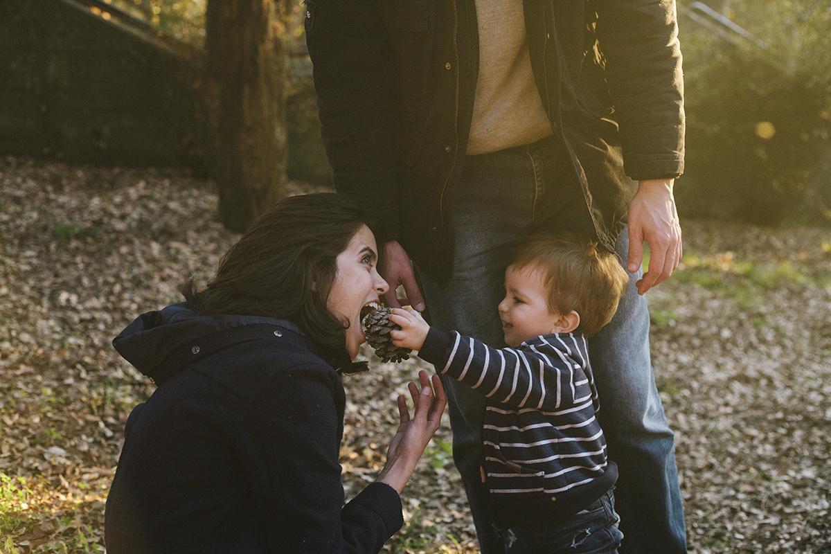 Sessão de família no Parque