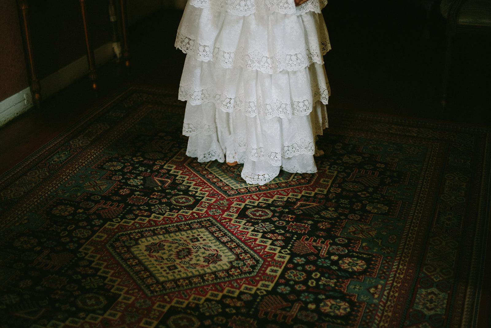 Fotografia de vestido de noiva
