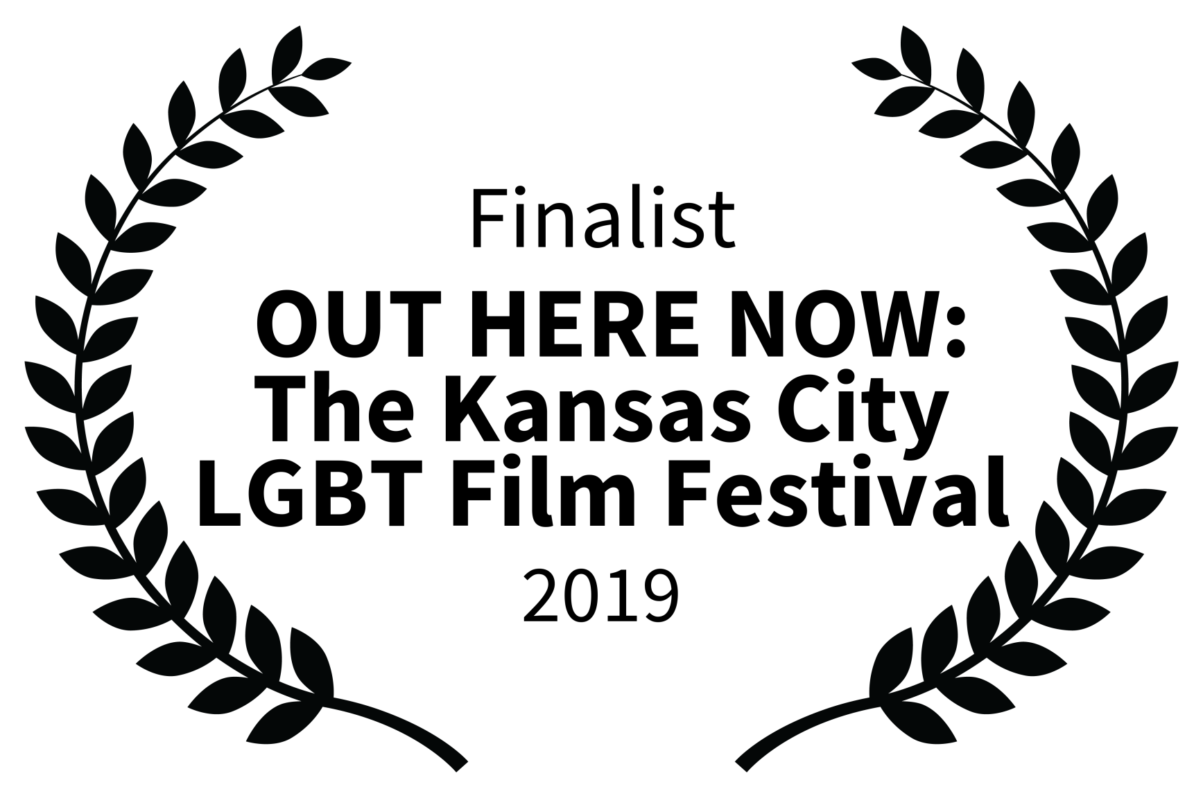 Finalist -  OUT HERE NOW The Kansas City LGBT Film Festival - 2019.png