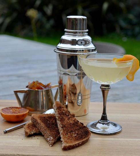 Jarrolds Gin Breakfast Martini