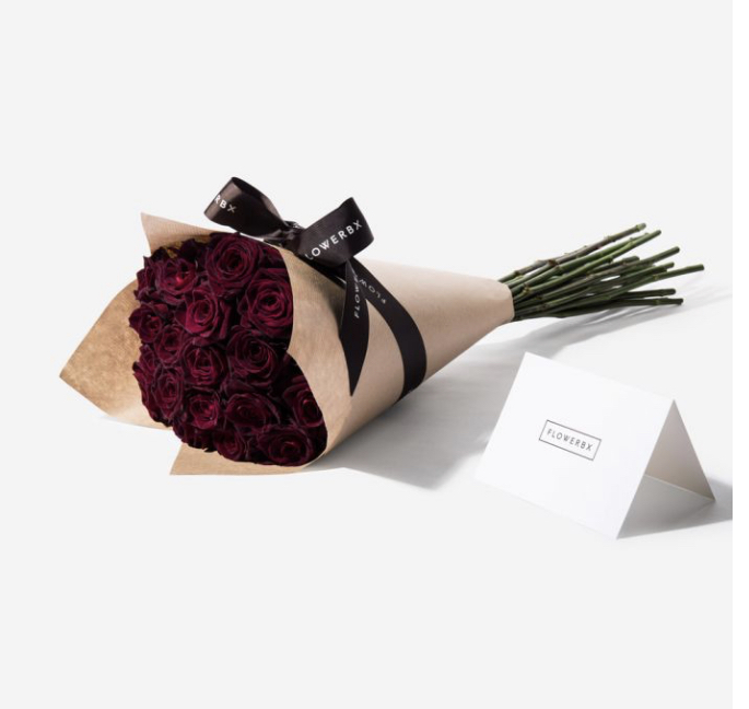 4. Balthazar Red Roses 20 stems for £55.00 available to purchase from    www.flowerbx.com