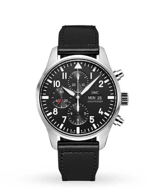 3. IWC Schaffhausen Pilots Watch Chronograph £4790.00 available to purchase    www.goldsmiths.co.uk