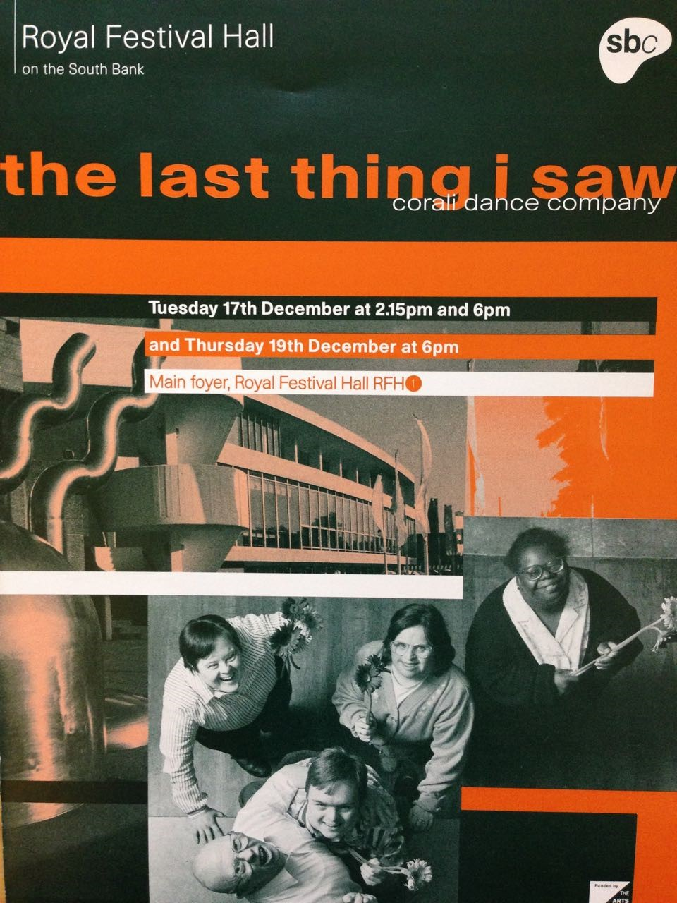 The Last Thing I Saw (1997) - Southbank Centre