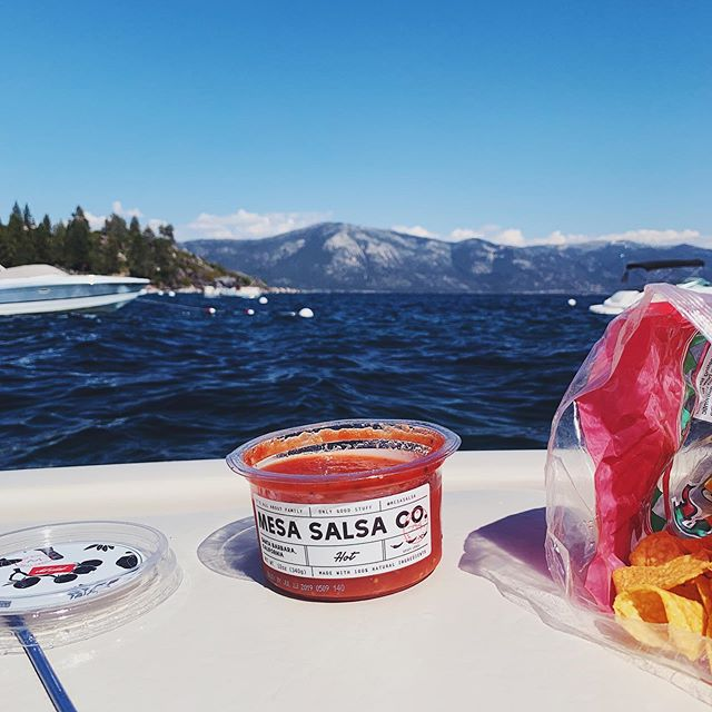 No holiday weekend is complete without salsa and chips🔥  Hope you all had a great 4th!! 🇺🇸🇺🇸