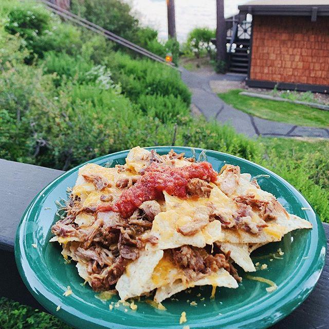 Summer night nachos on point🔥