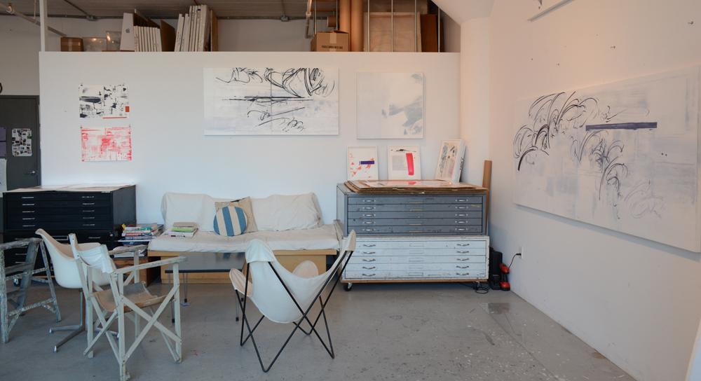 Jill Moser Studio View 2018