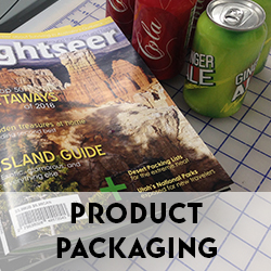 Folding cartons, pressure sensitive, adhesive-backed labels on glossy, matte, clear, and metallic foils