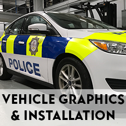High-resolution fleet graphics for cars, trains, buses, etc.