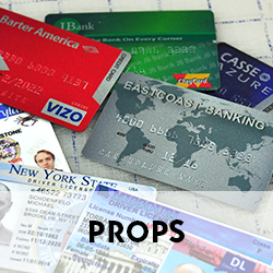 Stock library of designs from credit cards and passports to cigarette cartons and newspapers.  Check out our stock library!