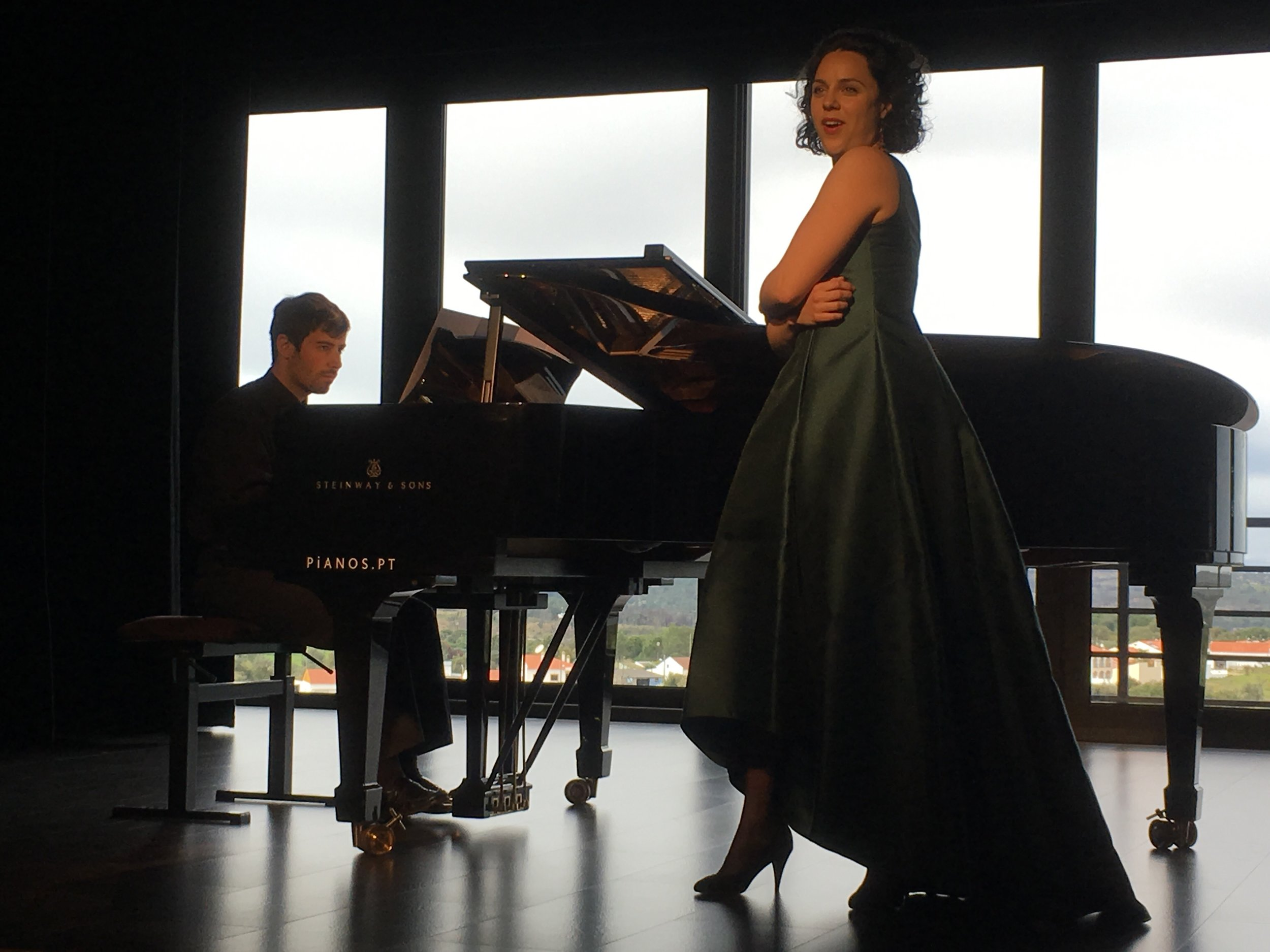 Recital with Stefano Amitrano, at Centro Cultural de Montargil