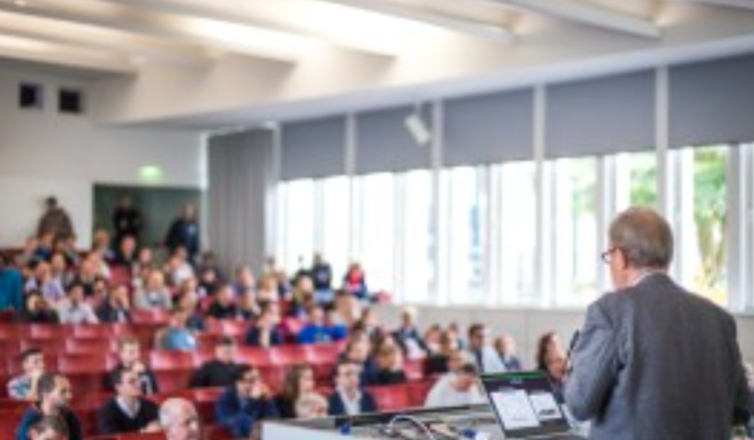 Dr. Gerhard Huhn at Entrepreneurship Summit, Berlin