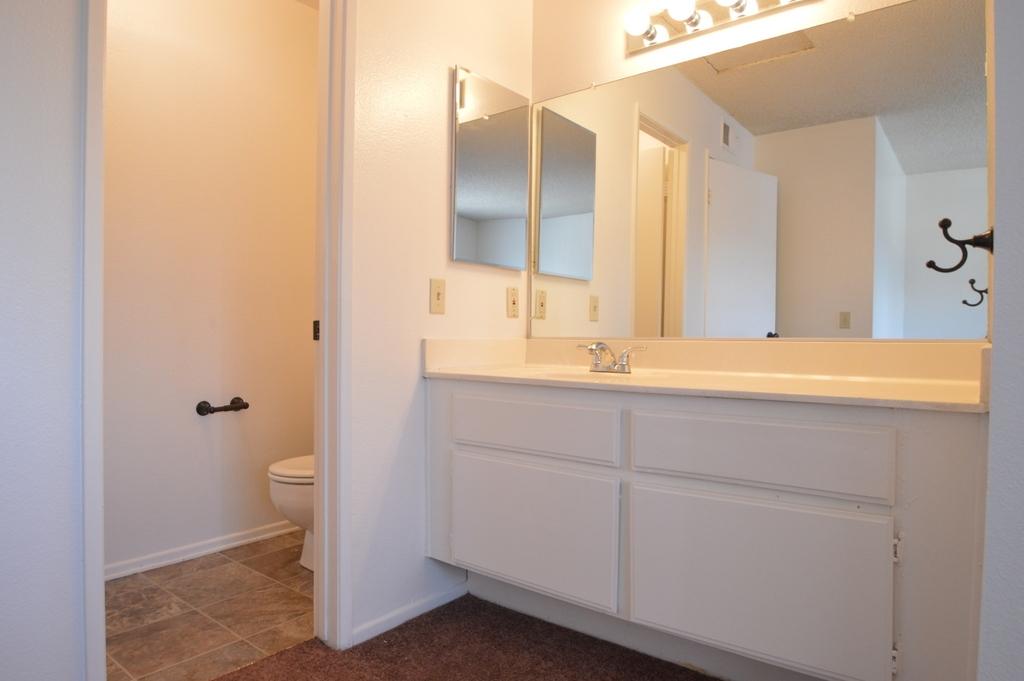 Bathroom at Franklin Terrace