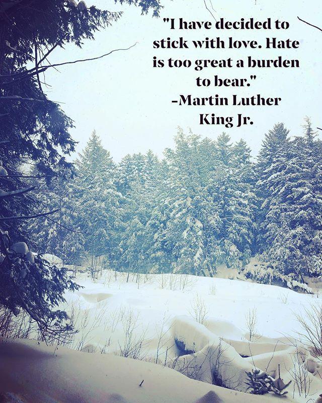 #stickwithlove #mlk #givelove #kindwords #wordstoliveby #spreadkindwords #spreadlove #martinlutherkingjrday
