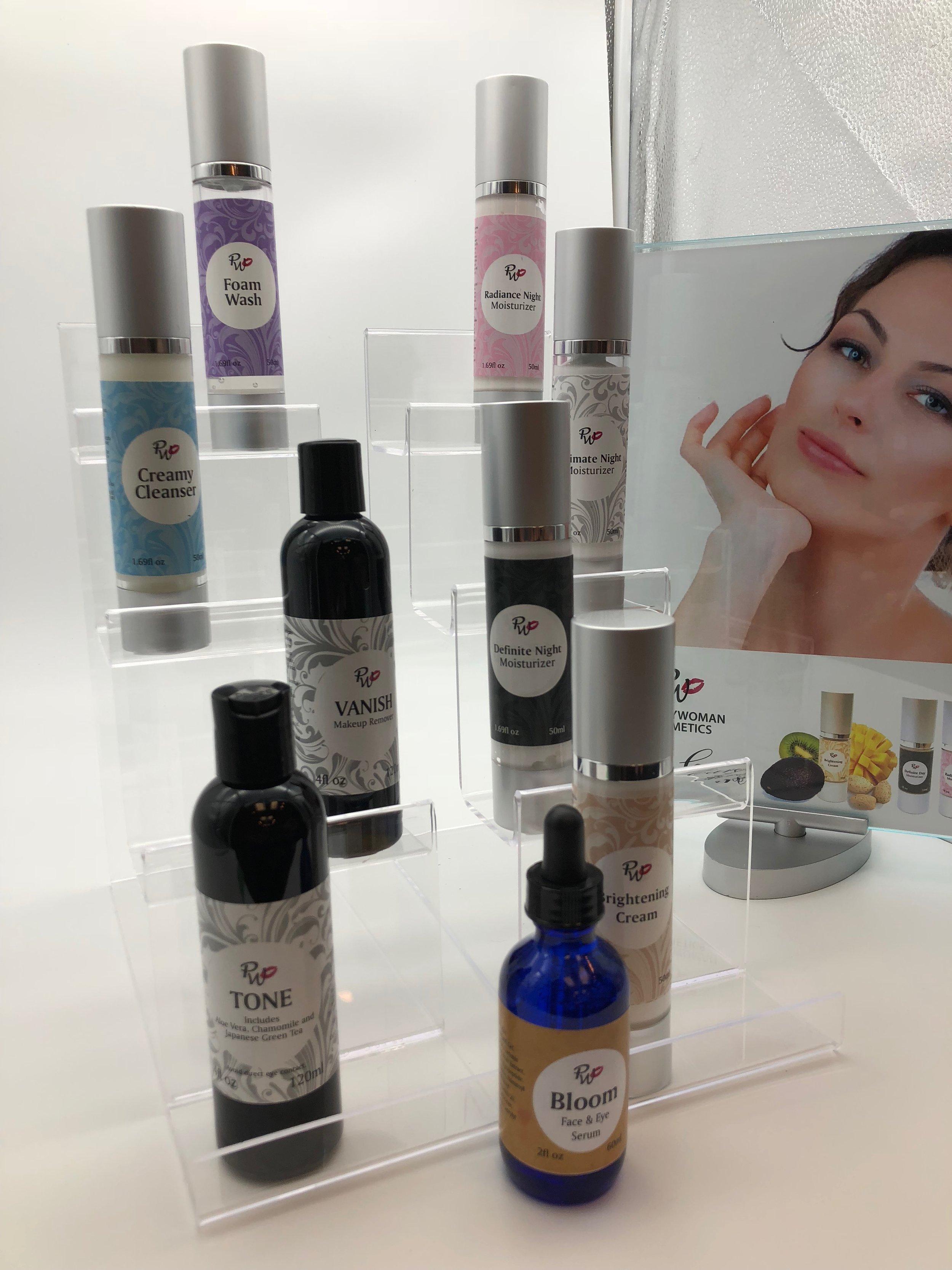 Pretty Woman Cosmetics Botanical Skincare Kit