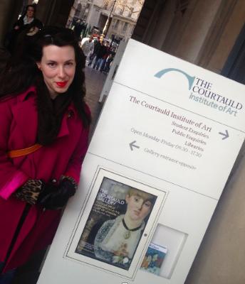 At the Courtauld Institute of Art
